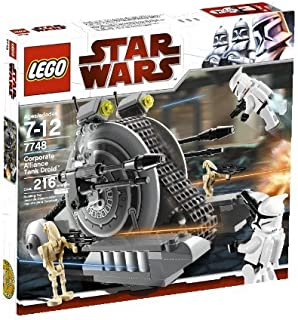 LEGO Star Wars: The Clone Wars Corporate Alliance Tank Droid (7748)