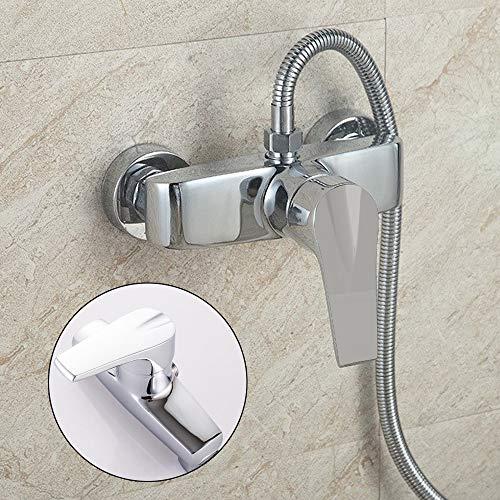 YORKING Duscharmatur Brause Armatur Dusche Wasserhahn Mischbatterie Einhebelmischer Bad