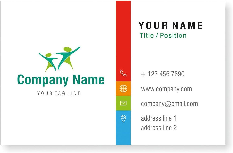 Entwerfen Entwerfen Entwerfen Sie Ihre eigene personalisierte Visitenkarten Kundenspezifische Professional Company Visiting Card- vorne B01EUKXSKE    Ausreichende Versorgung  a4eb42