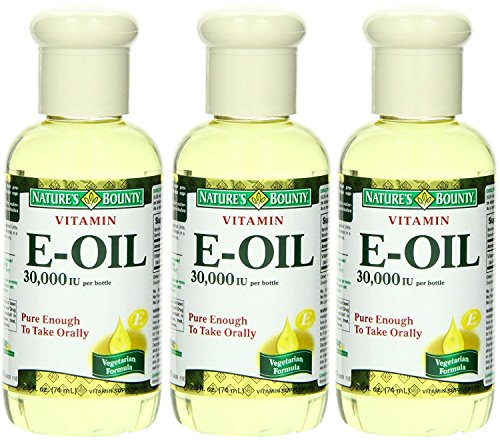 Nature's Bounty Vitamin E Oil - 30,000 IU - Pure Enough To Take Orally - Vegetarian Formula - Net...
