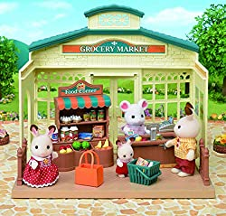 The supermarket Sylvania when they come together to make their daily shopping. Essential to complete your collection. Suitable for ages 3 +