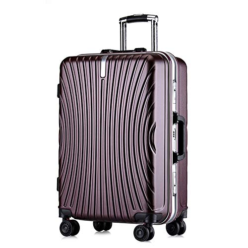 Purchase Travel Luggage 20inches 24inches Lightweight Carry-on Uprights Suitcase Single Piece Hardsh...