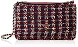 Guess Cessily Convertible Crossbody Flap Merlot
