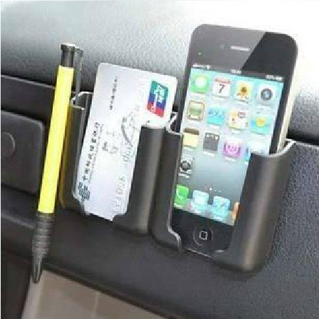 Hooshion Multi-Function Car Holder Stand Carried Pocket Gadget Bag for iPhone Mobile GPS Pad