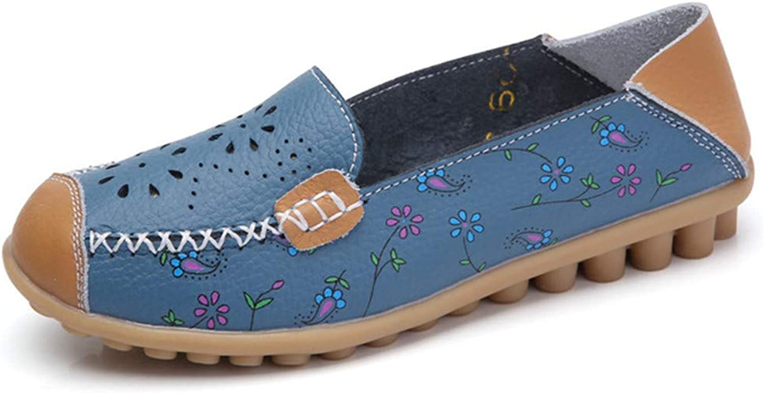 Dreamstar Women Ballet Flats Loafers Moccasins Ladies Slip On Casual Flat shoes