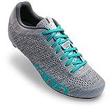 Giro Empire E70 Knit Cycling Shoes - Women's Grey/Glacier 40.5