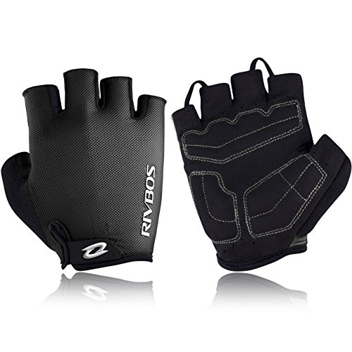 RIVBOS Bike Gloves Cycling Gloves Fingerless