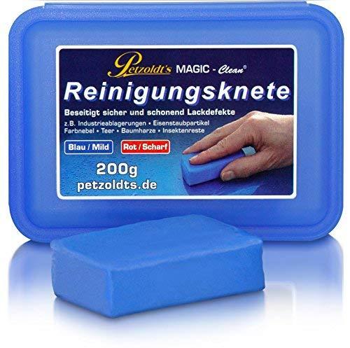Petzoldt\'s Profi-Reinigungsknete Magic-Clean, Blau, 200 Gramm