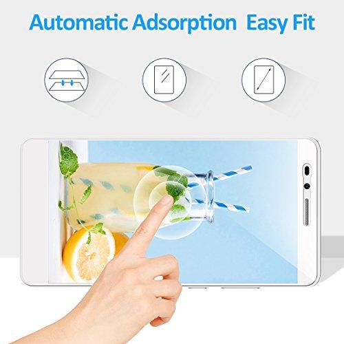 CRXOOX Panzerglas Schutzfolie für Huawei Honor 5X, [2 Stück] Transparent und Ultra-Clear Hartglas Displayschutzfolie, 9H Härte - 5