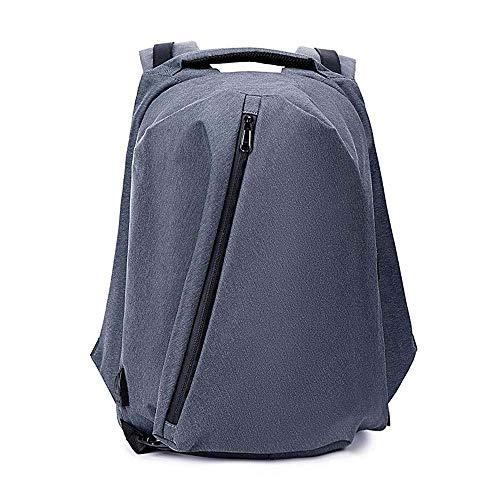 BBZZ Mochilas para hombres, mochila de ordenador portátil, mochila ultraligera, bolsa de viaje plegable, bolsa de viaje de gran capacidad con puerto de carga USB para estudiantes (color B: B)