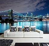 Fotomural Vinilo para Pared Puente de Brooklyn...