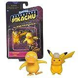 Bandai - Pokémon - film Détective Pikachu - Pack de 2 figurines 5 cm - Pikachu & Psykokwak - WT97599