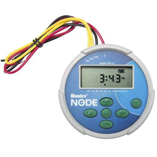 Hunter NODE-200 Programador de riego de 2 estaciónes (el solenoide de impulsos de CC se vende por separado)