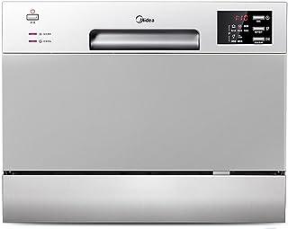 Midea 美的 WQP6-W3604J-CN 6套 WiFi智控洗 全智能除菌台式家用洗碗机 台嵌两用 wifi操控 LED显示 家用爆款