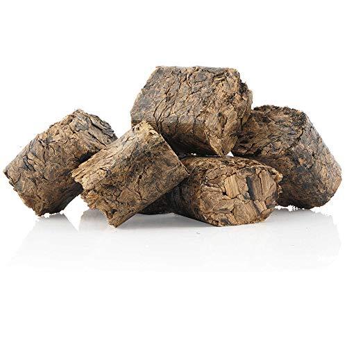 BBQ-Toro Whisky Briketts (3 kg) Whisky Grillbriketts | rauchintensive Holzbriketts aus Eichenfässern | Grillbrikett für Gasgrill, Smoker, BBQ
