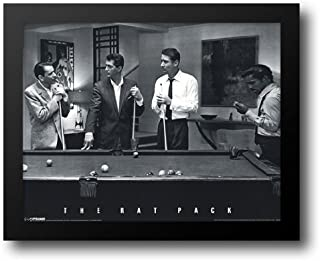 The Rat Pack - Pool 24x20 Framed Art Print