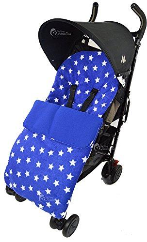 Forro polar saco/Cosy Toes Compatible con Maclaren Techno XT XLR Quest Volo azul Star