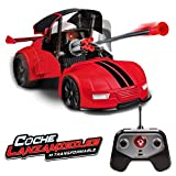 Xtrem Raiders Teledirigido, niños, transformables, Lanza misiles, World Brands, Coche Juguete, Color Rojo XT180892
