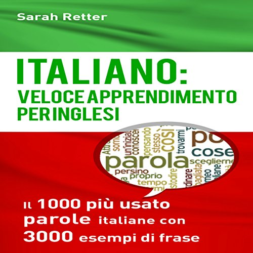 Italiano: Veloce Apprendimento per Inglesi audiobook cover art
