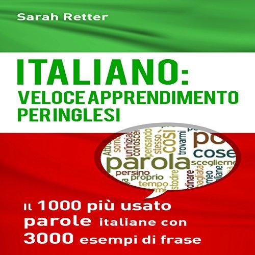 Italiano: Veloce Apprendimento per Inglesi cover art