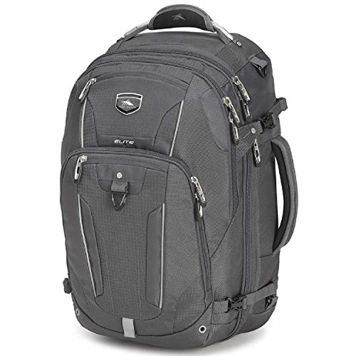 High Sierra Elite Weekender Convertible Travel Backpack, Mercury
