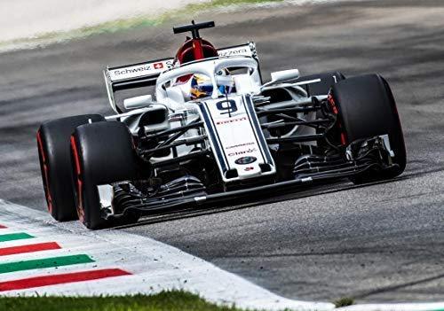 Sauber Motorsport AG Felpa con Zip Team Replica Alfa Romeo Racing