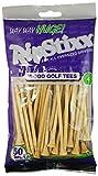 "Pride Golf Tee 4"" Way Huge RIPSTIXX Golf Tee (50 Count), Natural"