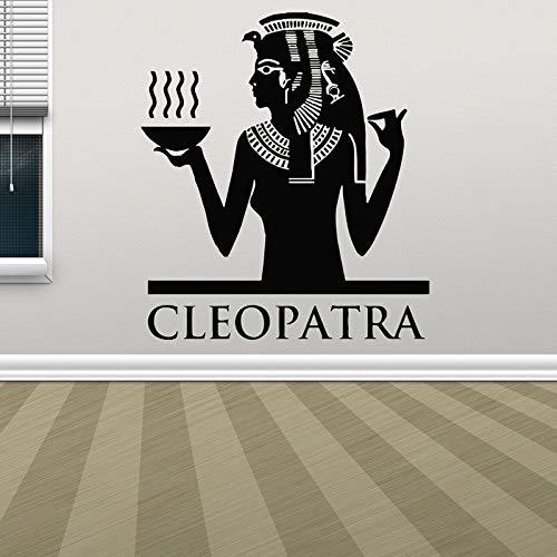 Ägypten Dekor Pharao Pyramide Sphinx Mumie Wandtattoo Fenster Aufkleber Design Removbale Home Schlafzimmer Kunst Wandbild Wandfarbe-1 42x48cm