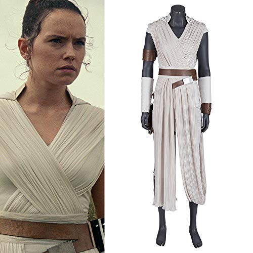 Lydia's Anime Cosplay VêTements Rey Cosplay Costume Wars étoiles Le Même Ensemble Complet De Film Halloween Cosplay Ensemble Complet De Vêtements Collection pour Adultes Porter Grey-S