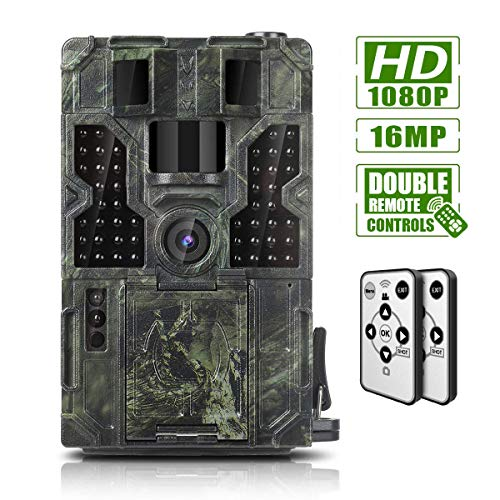 Trail Game Camera 16MP 1080P Waterproof Hunting Scouting Cam...