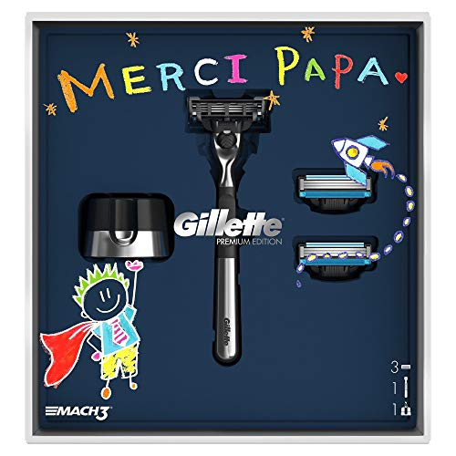 Gillette–Mach 3Kit Edición Adamascado afeitadora