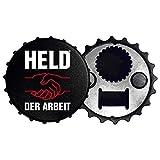 Ostprodukte-Versand.de Held der Arbeit Flaschenöffner Kapselheber - DDR Waren - Ostalgie