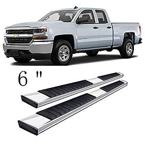Gevog 6-Inch Aluminum Running Boards