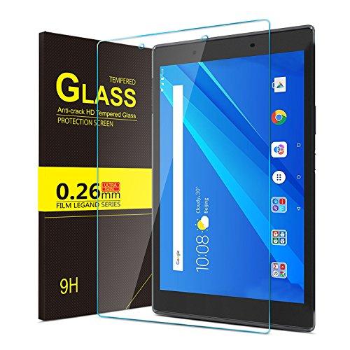 IVSO Lenovo Tab4 8 Bildschirmschutz, 9H Hardness aus, Klar Anti-Kratz, Glas Folie Schutzfolie Glas Panzerfolie Bildschirmschutzfolie für Lenovo Tab4 8 / Lenovo Tab 4 8 Hülle Hülle, (1 Packungen x)