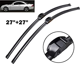 Wiper LHD Front Wiper Blades  ,For Mercedes Benz CL 550 4MATIC 600 63 65 AMG W216 C216 Windshield Windscreen Window 27