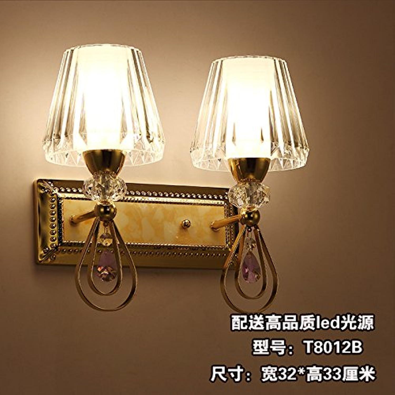 StiefelU LED Wandleuchte Sofa im Hintergrund wand Dual Head groe Wand lampe Schlafzimmer Bett Wandleuchten Hotel Zimmer ein, T 8012 B LED-Lampe