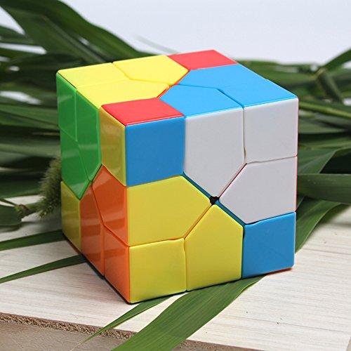 Easygame Moyu Redi Cube 333 Nero Magic Cube Puzzle giocattolo por bambini (Color)
