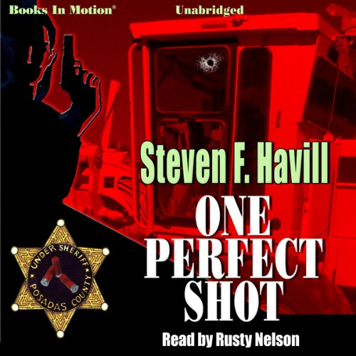 One Perfect Shot Audiobook By Steven F. Havill cover art