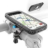 SPORTLINK Soporte Movil Bicicleta para iPhone 12 Mini - Soporte Moto & Funda Impermeable para iPhone 12 Mini, Porta Bike Mount para 20-35 mm Manillar (5,4 Pulgadas)