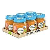 Naturnes BIO Tarrito Veggie bio Nestlé Zanahoria Boniato 270g - Pack de 6