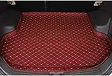 Alfombrilla de cuero para techo Hyundai Tucson 2015-2020, accesorios para modelismo, panel de moldura para maletero, riel guía impermeable