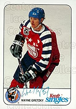 CI  Wayne Gretzky Hockey Card 1992-93 Kraft Singles Slices 11 Wayne Gretzky