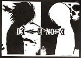 Poster Death Note Grafiti Hecho a Mano - Handmade Street Art - Artwork