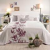 Sancarlos Tagesdecke, Polyester, lila, Einzelbett, 180x 270x 1cm