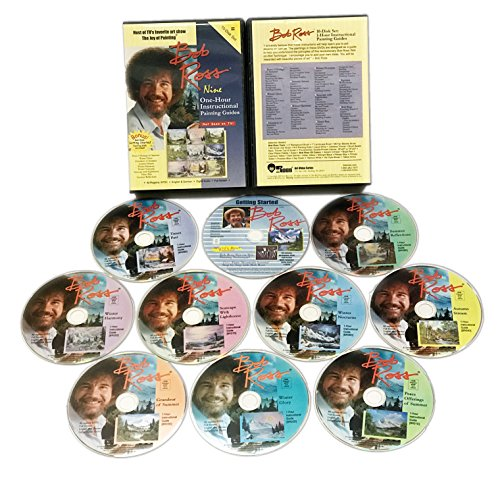 Bob Ross Joy Of Painting Series: Ten One-Hour Inst [DVD] [Region 1] [NTSC] [US Import]