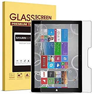 Screen Protector Surface Pro 6 / Surface Pro (5th Gen) / Surface Pro 4, SPARIN Tempered Glass Screen Protector - Surface Pen Compatible/Scratch Resistant