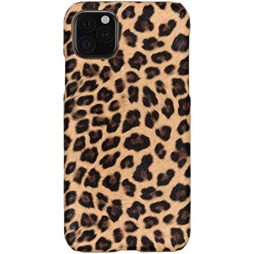 hHülle iPhone 11 Pro Max Hülle – Leopard, Wildkatze, Tiermuster – Hard Hülle Handyhülle