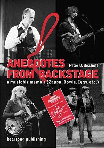 Anecdotes from Backstage: A musicbiz memoir (English Edition)