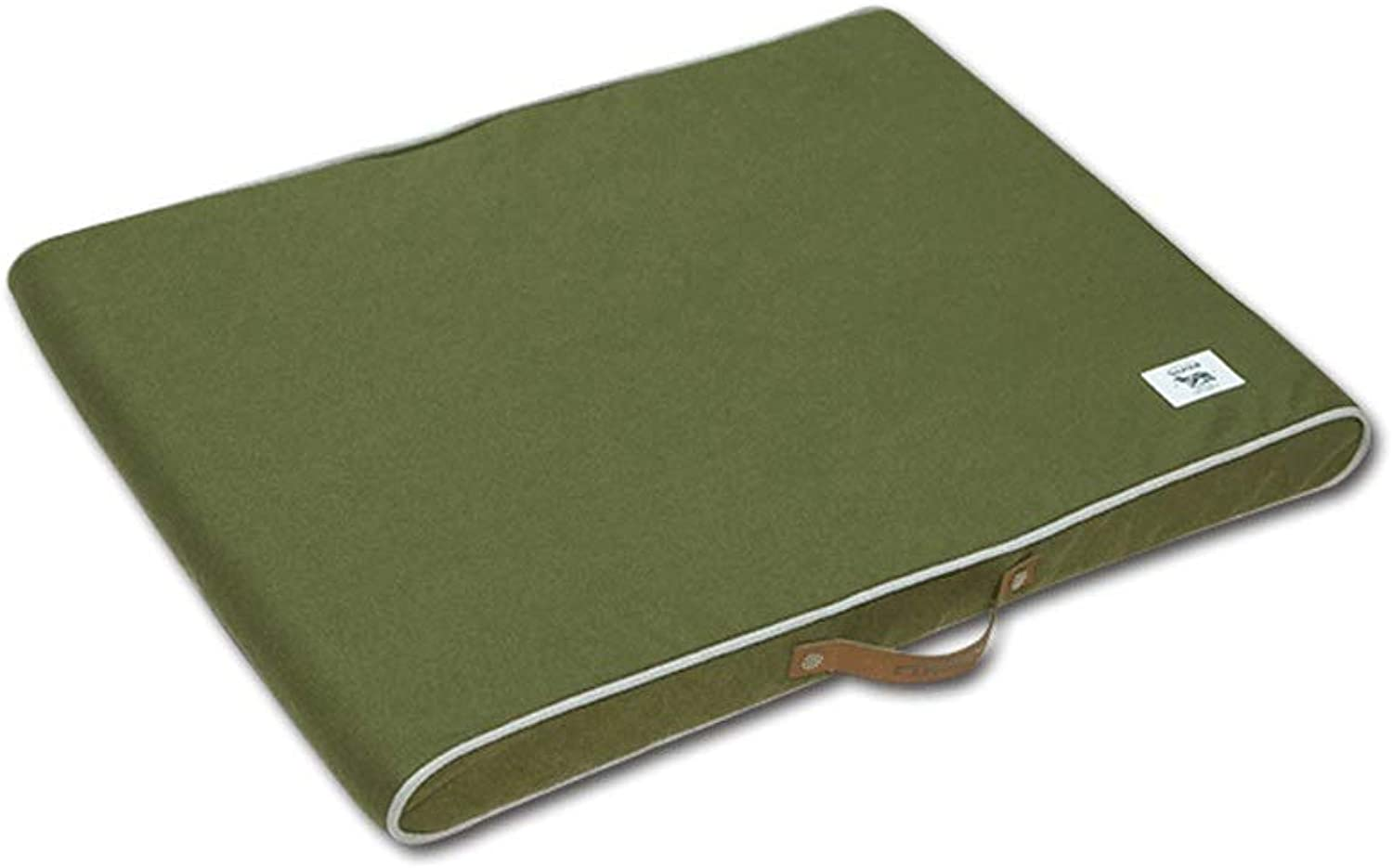 Pet beds Pet Dog Bed Mattress Memory Foam Pet Cot Sized for Small & Medium & Large Dogs Removable and Washable (color   Green, Size   75x55x12cm)