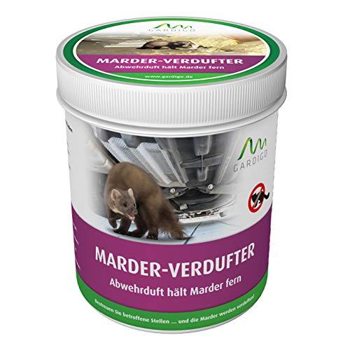 Gardigo Marder Verdufter 300g | Marderabwehr Granulat für Auto, Haus und Garten